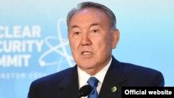 Нұрсұлтан Назарбаев, Қазақстан президенті. Вашингтон, 1 сәуір 2016 жыл.