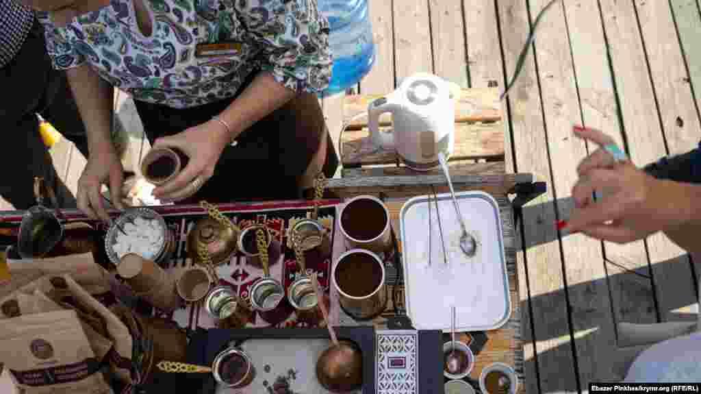 Проводили майстер-клас із приготування кави по-кримськотатарськи