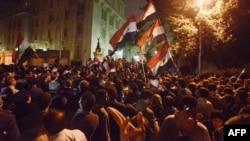 Pamje nga protestat në Kajro
