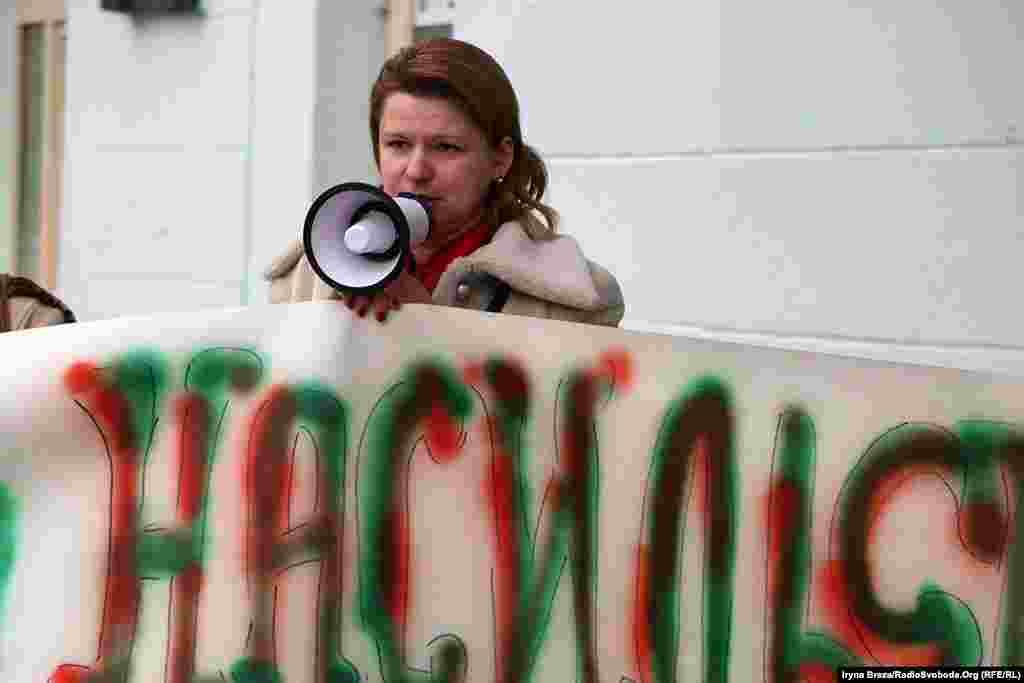 Адвокат Анастасія Бачинська наголошує на дискримінаціі жінок в українській політиці