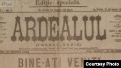 """Cotdianul """"Adevărul"""" salută intrarea armatei române în Basarabia (Foto: Centrul de Cultură și Istorie Militară, Chișinău)"""
