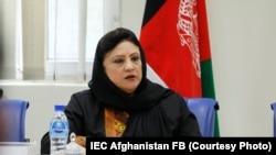 حوا علم نورستانی رئیس کمیسیون مستقل انتخابات افغانستان