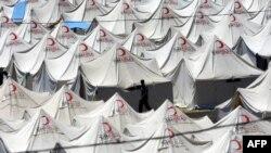 Один із таборів сирійських біженців у турецькій провінції Хатай, архівне фото