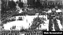 წითელი არმია თბილისში, 1921 წლის 25 თებერვალი