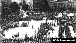 25 февраля 1921 года Красная Армия вошла в Тбилиси