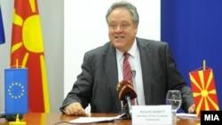 Ричард Ховит, известувач за Македонија во Европскиот парламент.