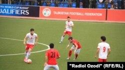 Кыргыз футболчулары Тажикстан менен ойноодо. Дүйшөмбү шаары