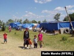 Лагерь бежавших из Бороздиновской аварцев, 2005 год