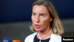 Balkan je već Evropa: Federika Mogerini