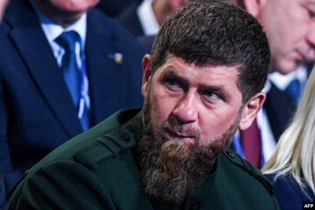 Chechen leader Ramzan Kadyrov (file photo)
