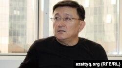 ЖСДП-ның сайлауалды штабының жетекшісі Айдар Әлібаев.
