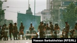 ۱۸ تیر ۷۸،دانشگاه تهران، عکس از حسن سربخشیان