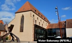 La Nef, vechea biserică dominicană transformată în Centru cultural și sală de concert la Wissembourg