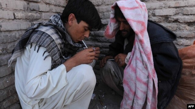 The Afghan government estimates there are more than 1 million drug users out of a population of just over 30 million -- one of the highest drug-use rates in the world.