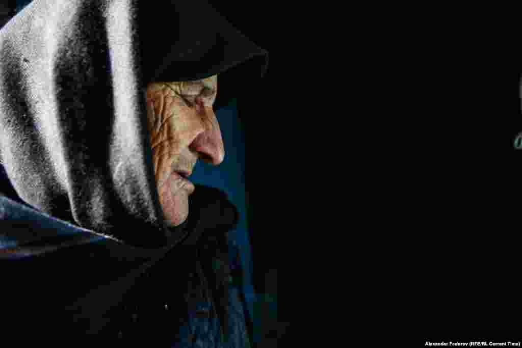 Musalmagomedova refuses to move out on principle. This is the village where she was born, spent her whole life, and wants to die. No one knows how old she is: some say 77, others 89.