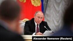 Президент России Владимир Путин. Иллюстрационное фото