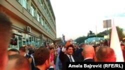 Burak Ozčivit među fanovima u Novom Pazaru