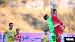 علیرضا بیرانوند با واکنش های خوب چند موقعیت گلزنی را از مهاجمان پرسپولیس گرفت.