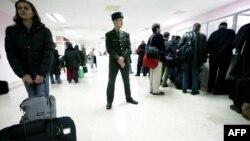 Ашхабад аэропорту. Архивдик сүрөт.