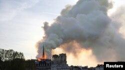 Notre Dame-ի տաճարը հրդեհվել է, Փարիզ, 15-ը ապրիլի, 2019թ.