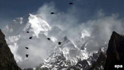تصویری از یکی از گذرگاه های هیمالیا