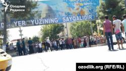 Samarqand katta marakaga tayyorgarlik ko'ryapti