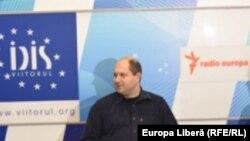 Victor Parlicov la o dezbatere Europa Liberă