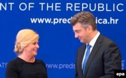 S najviših državnih adresa zatraženo je objašnjenje (Plenković) i nedvosmislena isprika (Grabar-Kitarović)