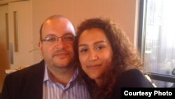 Jason Rezaian və xanımı Yeganeh Salehi