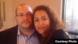 جیسون رضائیان و همسرش یگانه صالحی، روزنامهنگارانی که به تازگی بازداشت شدهاند