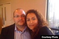 جیسون رضائیان و یگانه صالحی که در ایران در بازداشت بهسر میبرند.