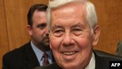 Senatorul Richard Lugar