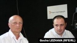 ირაკლი მაჭარაშვილი (მარჯვნივ) და მერაბ მაჭავარიანი