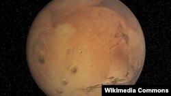 Планета Марс.