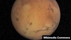 Марс ғаламшары.