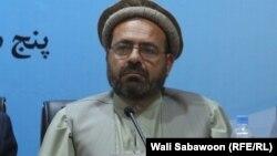 محمد کریم امین رئیس هیئت مذاکره کننده حزب اسلامی و عضو کمیسیون مشترک اجرایی تطبیق موافقتنامه صلح