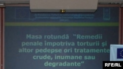 """Prevenirea torturii"" - proiect UE"