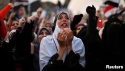 Прихильники Мухаммада Мурсі мітингують у Каїрі, 8 липня 2013 року