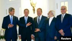 وزیران خارجه شماری از کشورهای طرف مذاکره هستهای در وین
