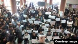 Təbrizdə protest