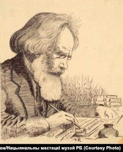 Я. Драздовіч. Партрэт кампазытара Антона Грыневіча. 1923 год