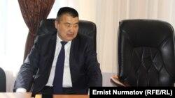 Бывший мэр Оша А. Кадырбаев.
