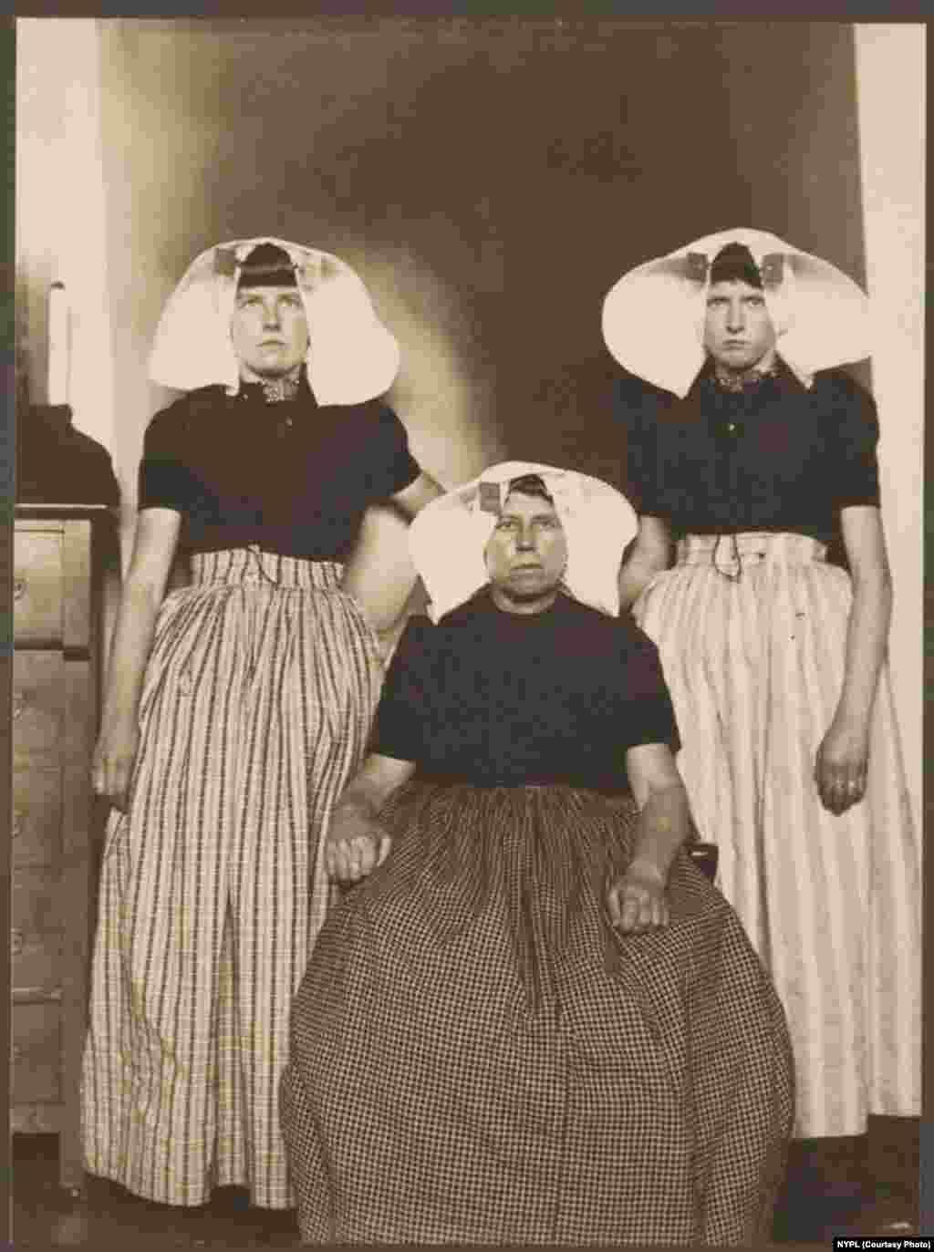 Three Dutch women.