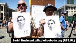Олег Сенцовду колдогон акция.