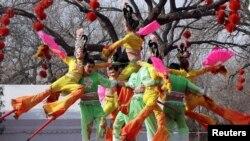 Չինական Նոր տարվա տոնակատարությունները Պեկինում, 02.02.2011