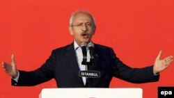Turkish opposition leader Kemal Kilicdaroglu (file photo)
