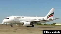 """Tatarstan"" һава ширкәтенең Airbus A319 очкычы"