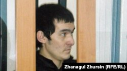 Айбек Танатаров, обвиняемый в призывах к джихаду. Актобе, 2 мая 2013 года.