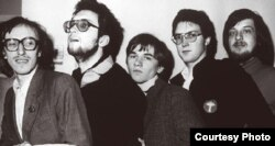 """Группа """"Мухоморы"""". Снимок 1980-х годов"""