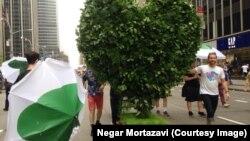 Марш супраць зьмяненьня клімату ў Нью-Ёрку, 21 верасьня